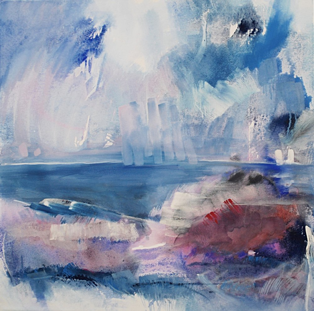 Blue World 80x80
