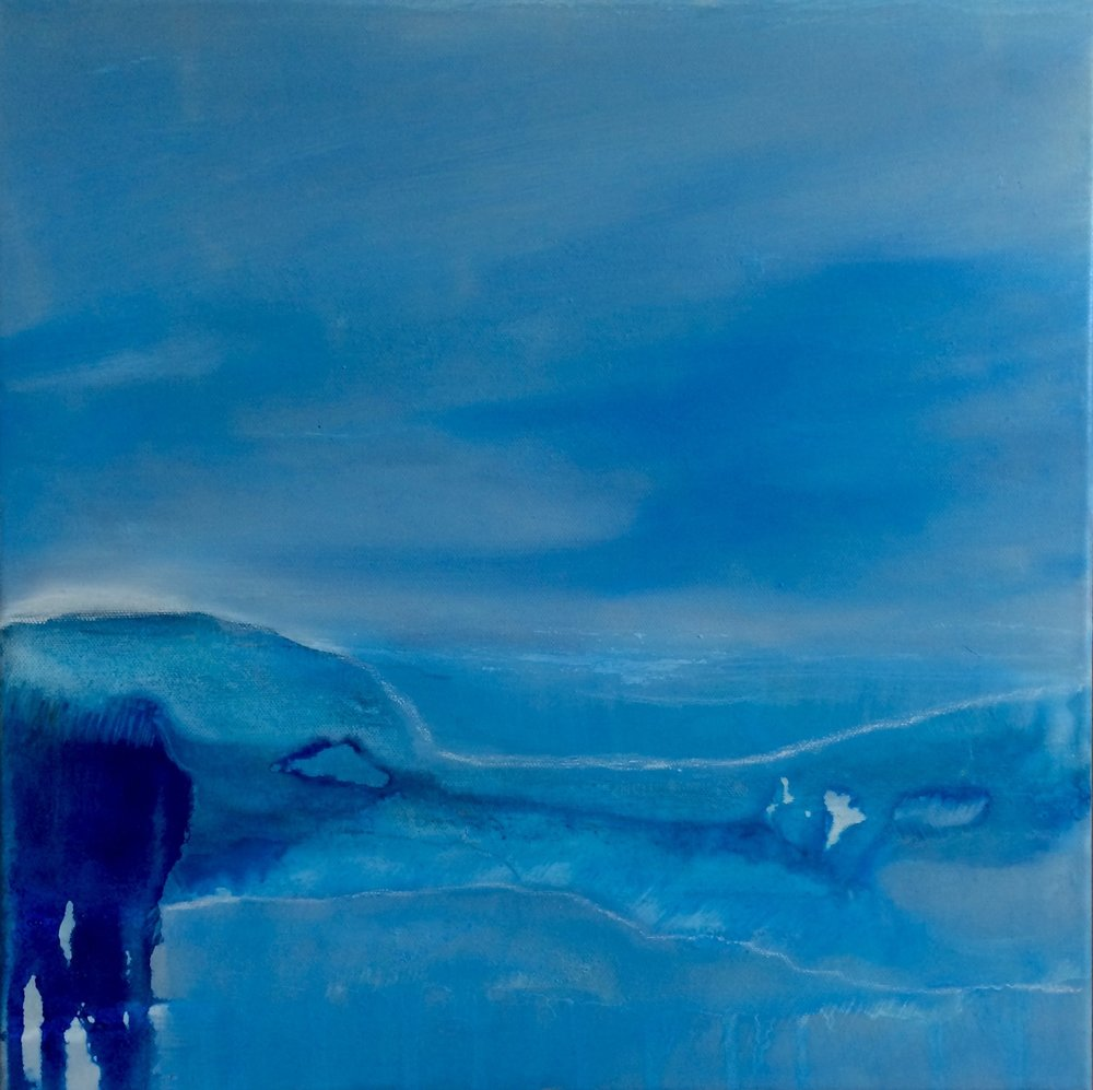 Blue Illusion 40x40