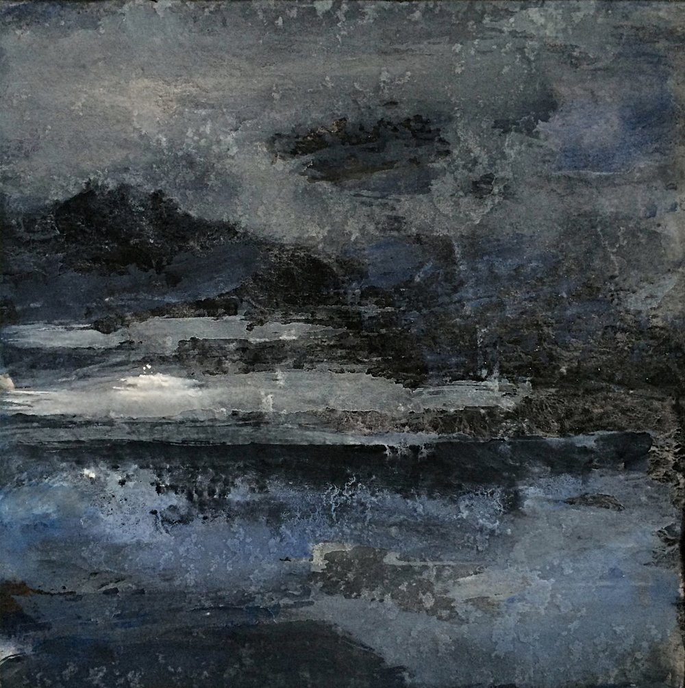 Stormy Dark Sea