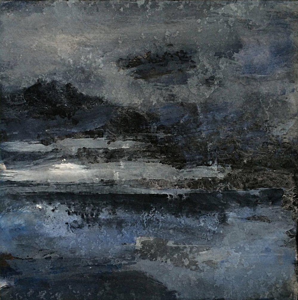 Stormy Dark Sea