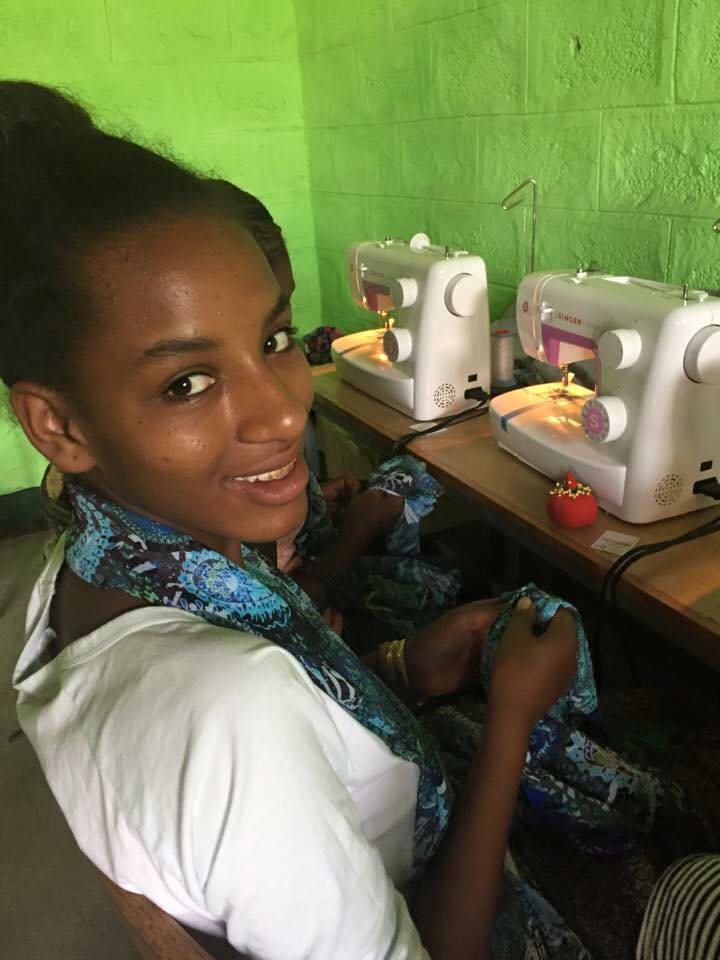 July 2015The First Inventory – Summer Sewing - The Elpis Mission Team came home with a suitcase full of scarves. The girls worked for 2 weeks to sew! 269 Scarves provided us with the first inventory!