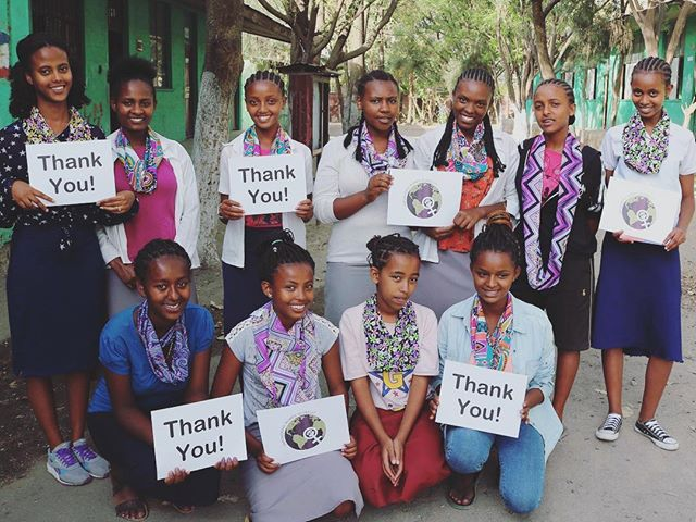 On this Monday, we are thankful to the FSU Student Women's Empowerment Organization, @ewgfsu, for their generous donation to our sewing program this semester! We are so thankful for their support which has helped us add 2 sewing machines to our classroom, 15 new pairs of scissors, and over 30 meters of fabric to help carry out new lessons in the curriculum! 💟Empowered women empowering women 💟