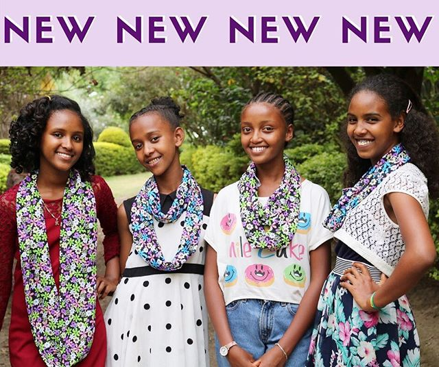 NEW SCARVES💕 Spring has sprung with FIVE new prints! Each purchase contributes to the sewing education of a young woman in Ethiopia! 🌸link in bio🌸 #giftsforconfidence