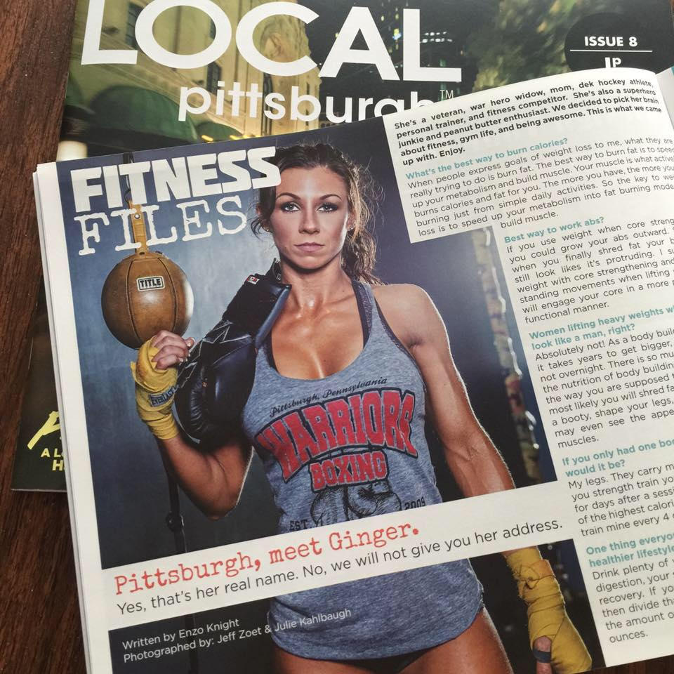 Ginger warriors Fitness in Local Pittsburgh Mag.jpg