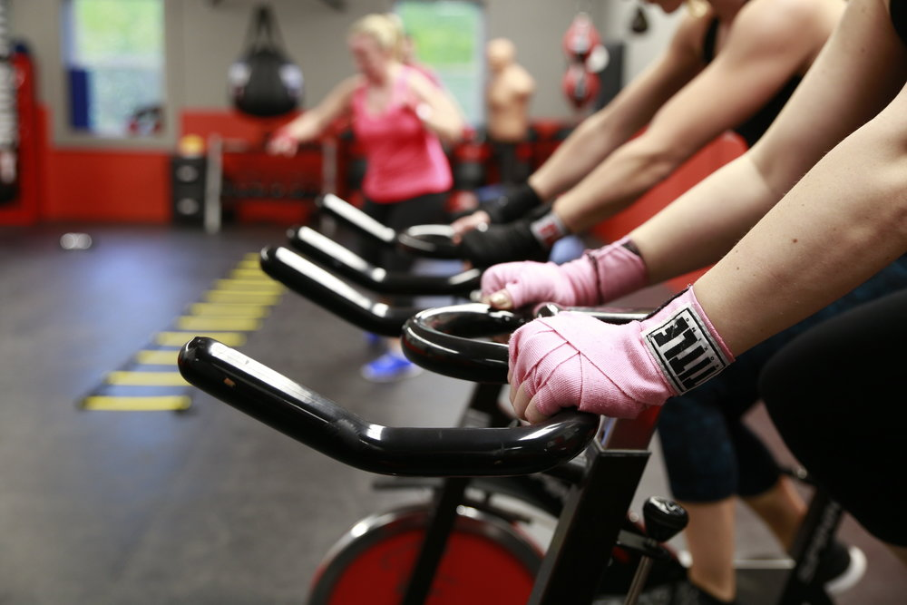 Punch N Pedal - Circuit Boxing and Spinning Class