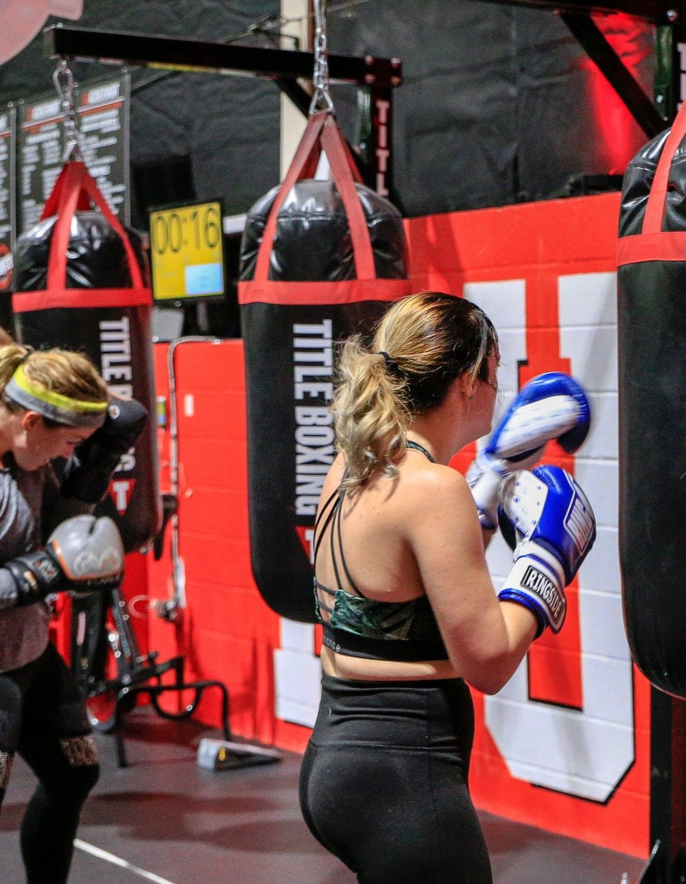 BOXING - High intensity combos on the heavy bag to keep your heart rate up and the sweat dripping.