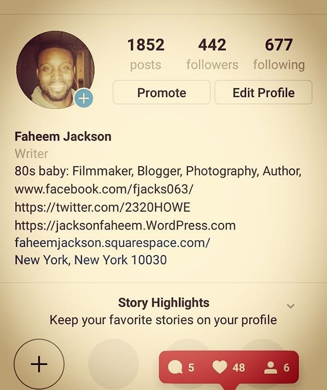 Continuously slowly but surely building my platforms.  Facebook Page: www.facebook.com/fjacks063  Instagram: @theefaheemjackson  WordPress: Judiciouslogic.com  Medium.com/@faheemjackson  Twitter: @2320howe . . . #facebook #instagramer #Twitter #Tumblr #medium #wordpressblogger #wordpressblog #WordPress #blog #blogger #vloggers #vlogging #bloggerswanted #writinglife #writersofig #socialplatform #socialmediamarketing #socialmediabusiness #selfpromotion #follow #following #likes #share