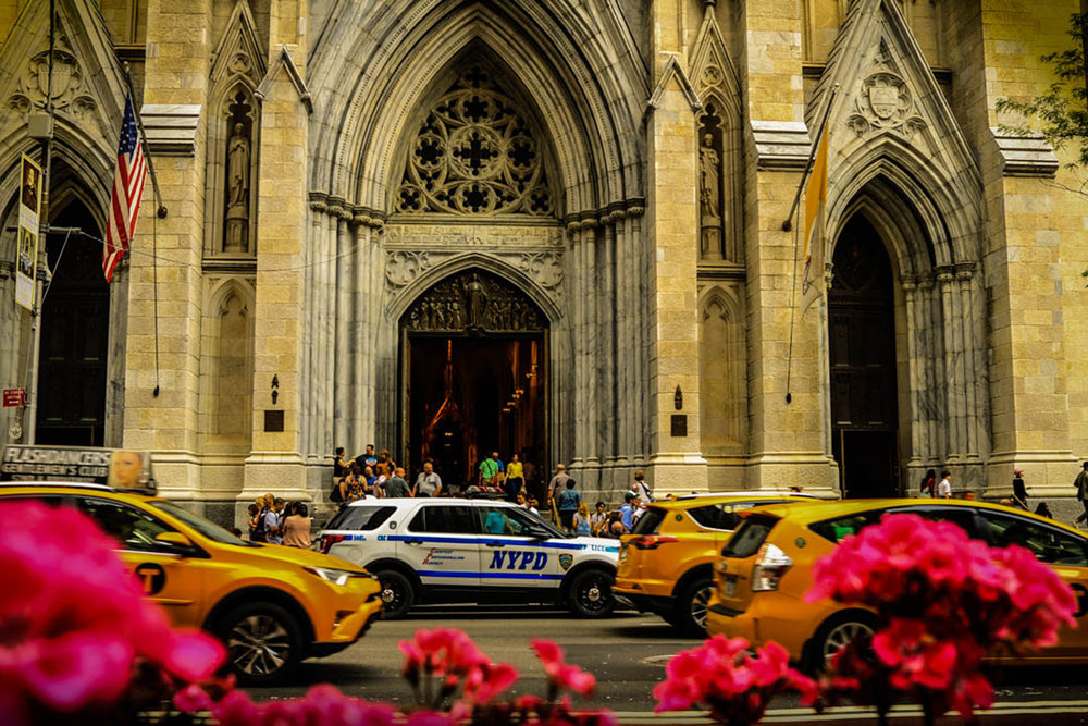 CATHEDRAL ON WEST 54TH STREET - NYC