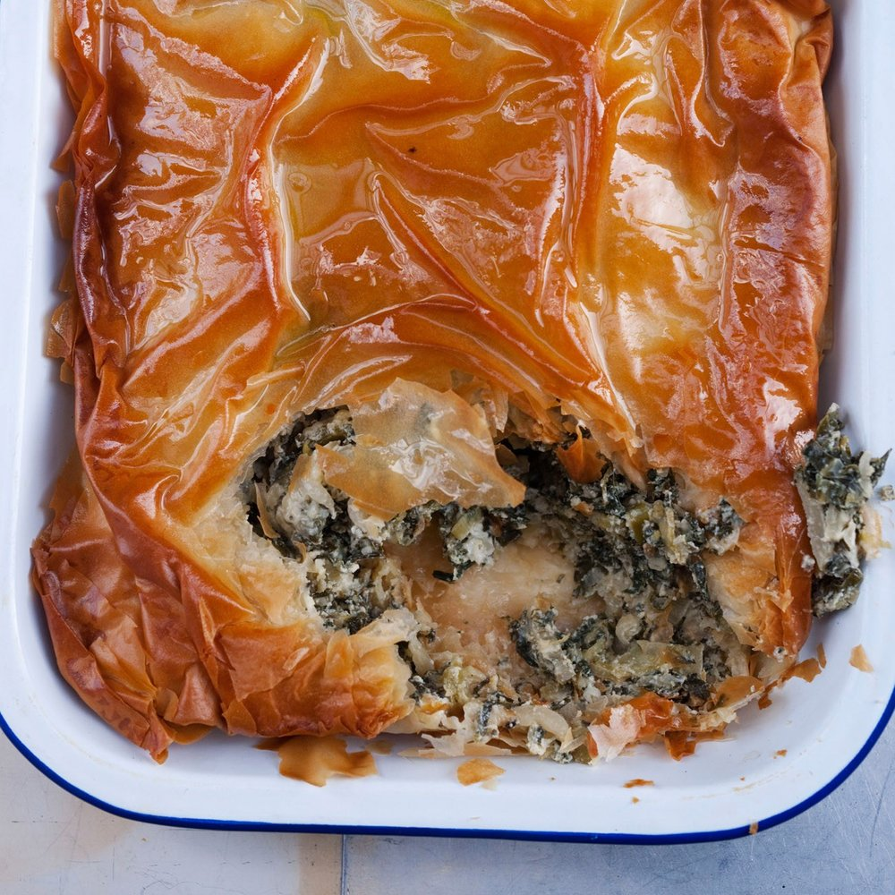 Herb Pie by Yotam Ottolgenhi   See recipe