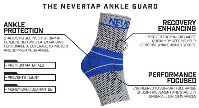 Do you wear ankle support? The NeverTap Ankle Guard is designed to protect your joints and keep your ligaments in place during even the toughest of training sessions. Keep your ankle healthy, recover faster and give your ankle the support it deserves today! Free shipping on all eligible orders. . . . #anklesocks #anklemobility #anklerehab #anklesprain #anklesbroken #anklestrength #ankles #bjj #bjjlifestyle #bjjmotivation #bjjdrills #bjjtechnique #bjjfamily #bjjgi #bjjnogi #jiujitsu #jiujitsustyle #jiujitsuforlife #jiujitsu4life #jiujitsubrasil #jiujitsuforeveryone #jiujitsumotivation