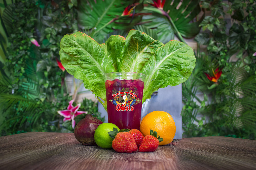 JUICE BAR - Fresh fruits, vegetables and natural boosters.