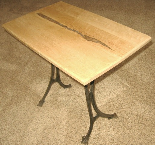 Birdseye maple coffee table.JPG