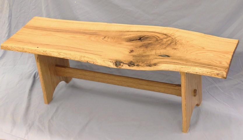Live edge coffee table - White Oak