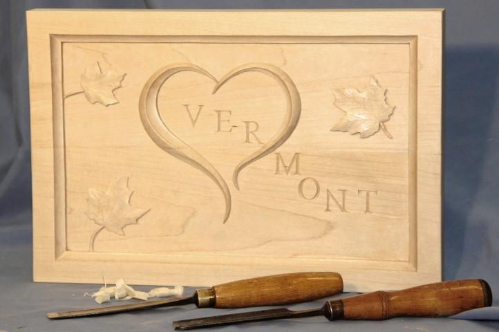 Vermont's open heart - Sugar Maple