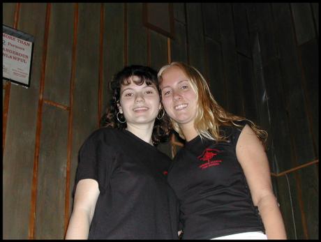 SWAT Members: Dominique & Adrienne