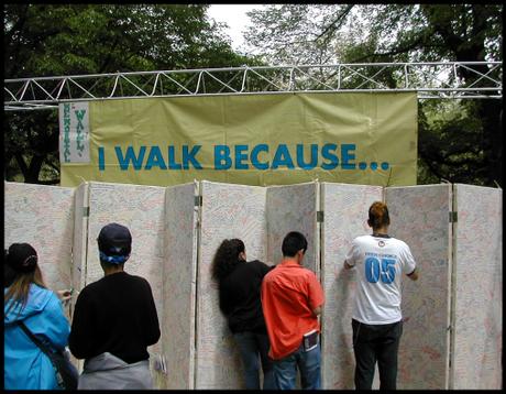 I Walk Because...