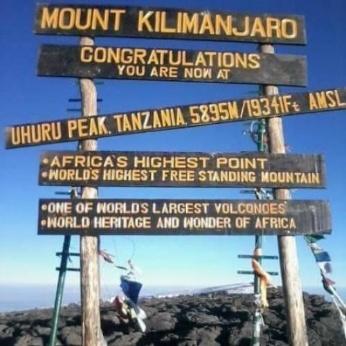 Uhuru Peak, Kilimanjaro Summit