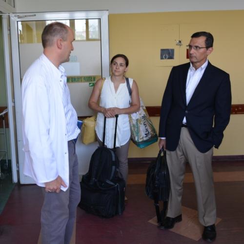 Me & Dr. Lenke in Poland