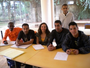 Teaching English at a Refugee Center in Rabat, Morocco