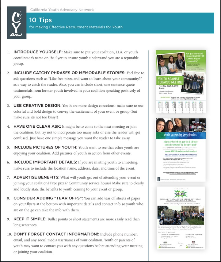 you for youth website