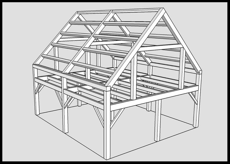 FRAME IDEAS — MAINE MOUNTAIN TIMBER FRAMES