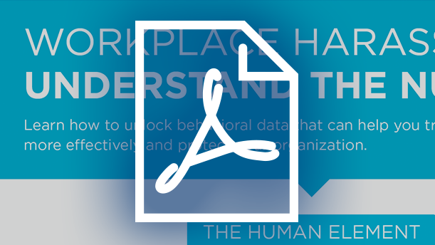 Download the Infographic: Workplace Harassment