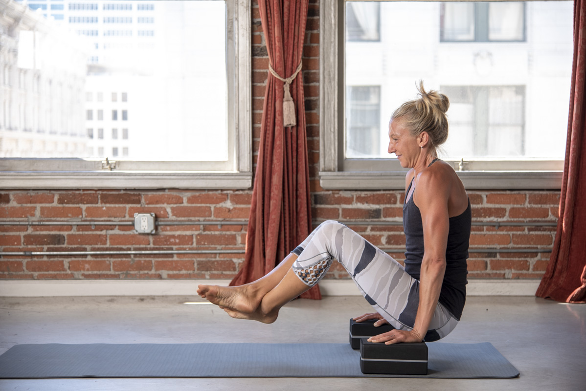 Levoit Yoga Poses Lotus With Yoga Blocks