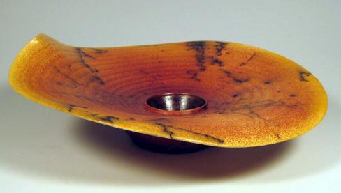 MASHIKO Circles of Life Horsehair Plate