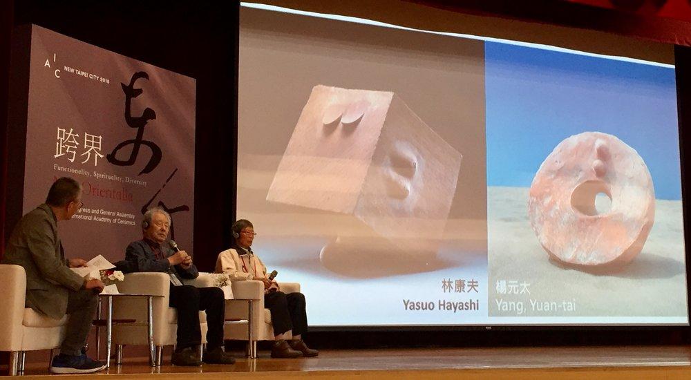 Talk with Yasuo Hayashi and Nara Yoshitomo.