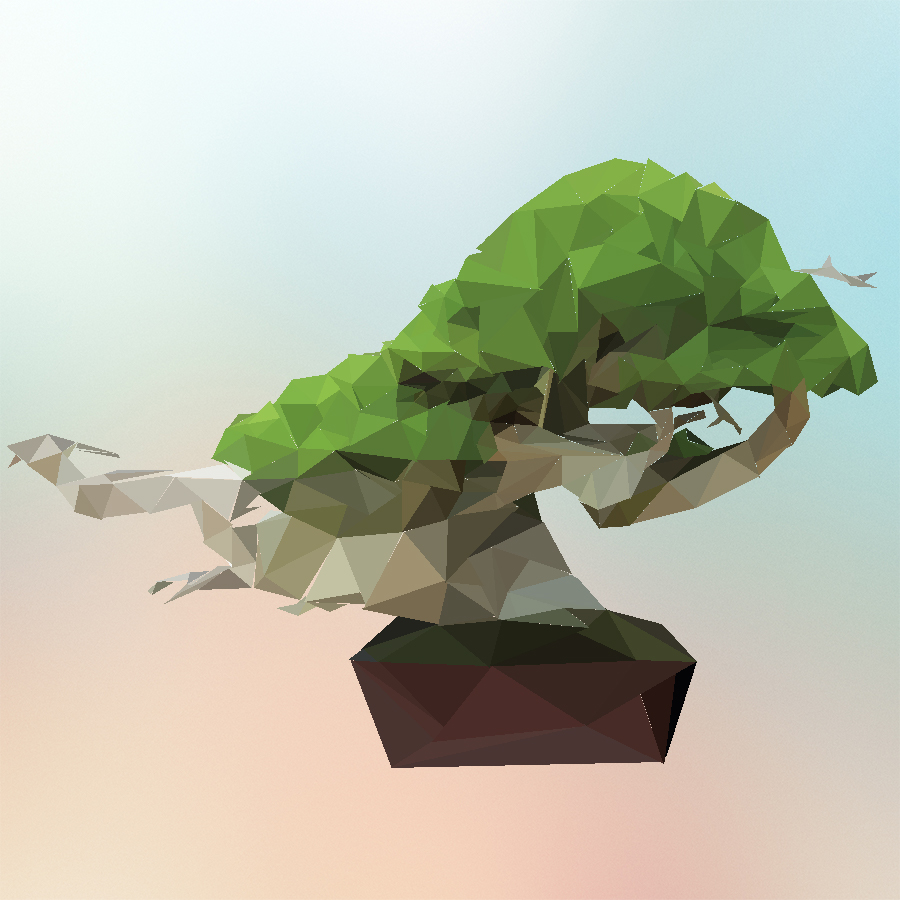Poly Bonsai
