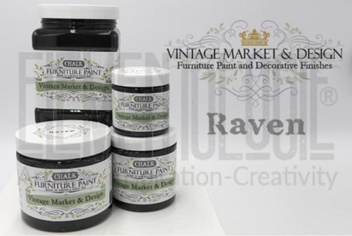Raven Vintage Market Design Furniture Paint Rustic Home