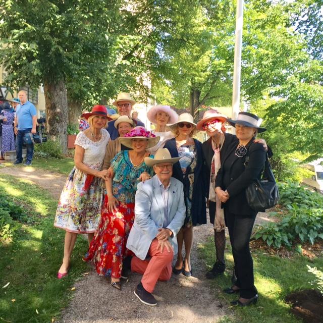 Käpyrinteen hattujuhla 24.8.2017