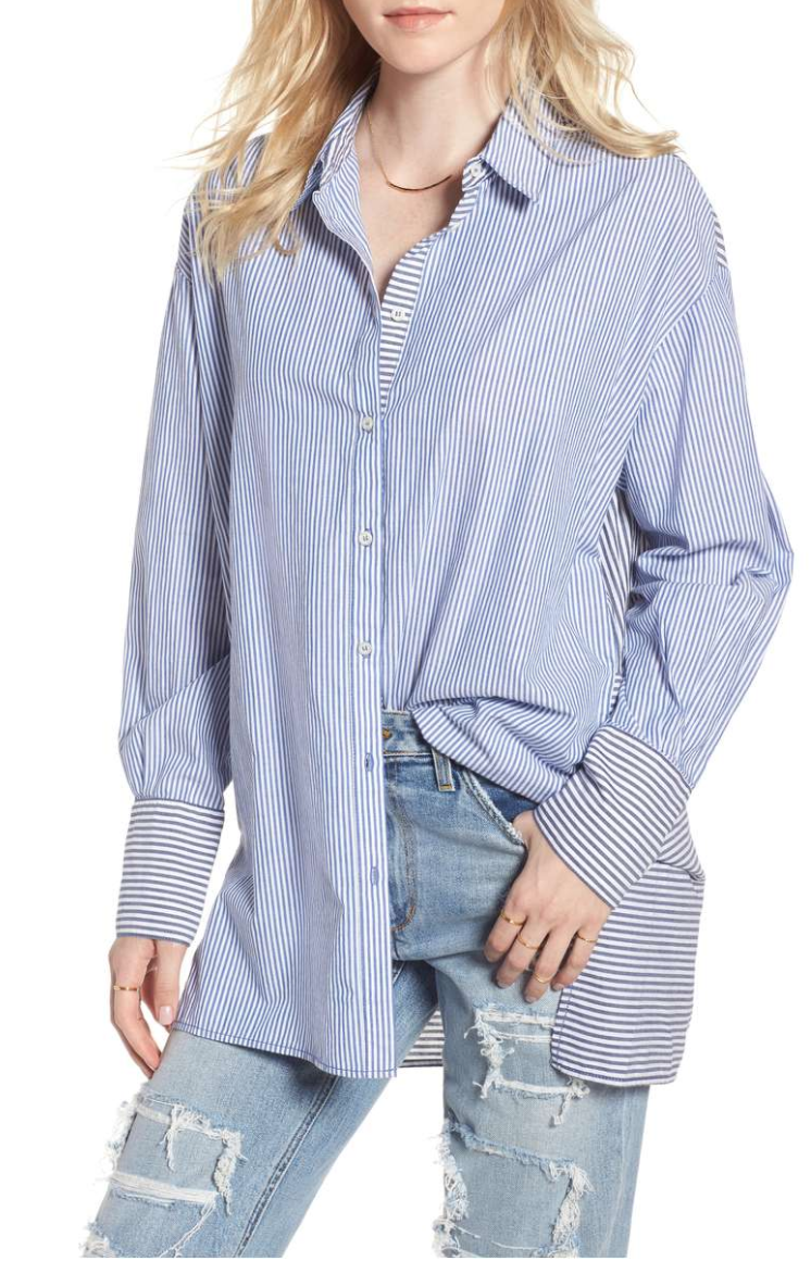 Free People - Lakehouse Oversize Shirt