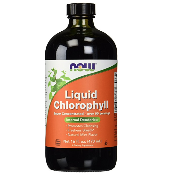 Chlorophyll - Bought to mix with water and drink