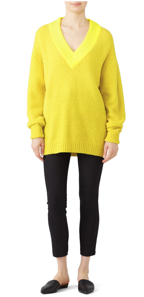 Yellow Pullover -