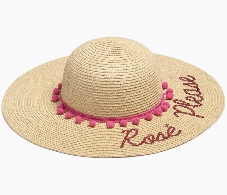 Rose Please Floppy Hat