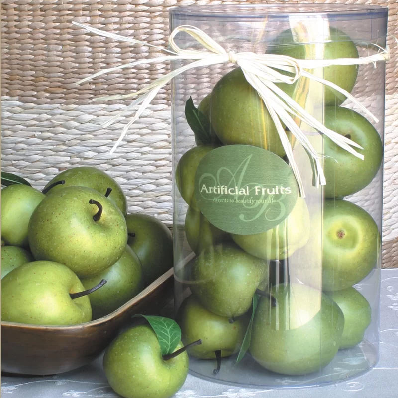 Faux Green Apples