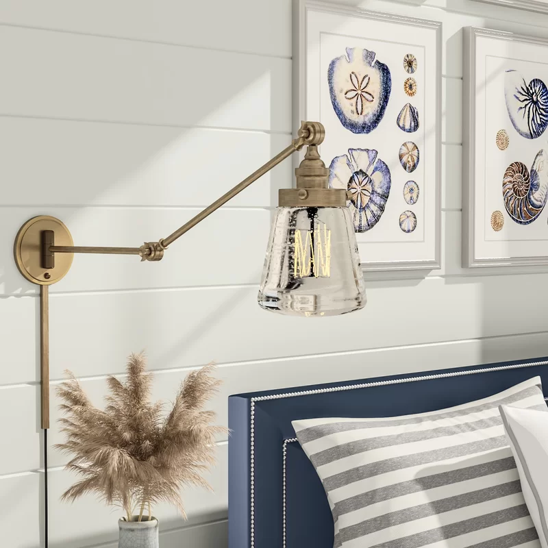 Brinley Swing Arm Wall Lamp