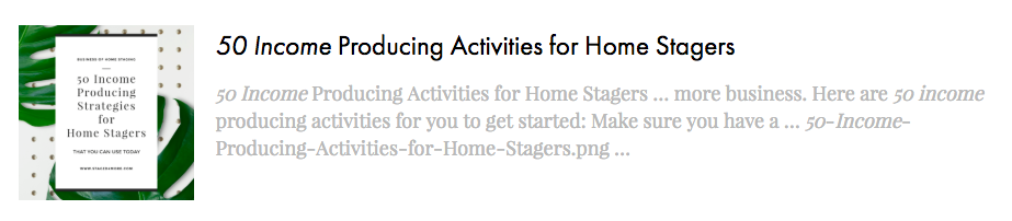 50 Income Producing Activitie for Home Stagers by Staged4more School of Home Staging.png