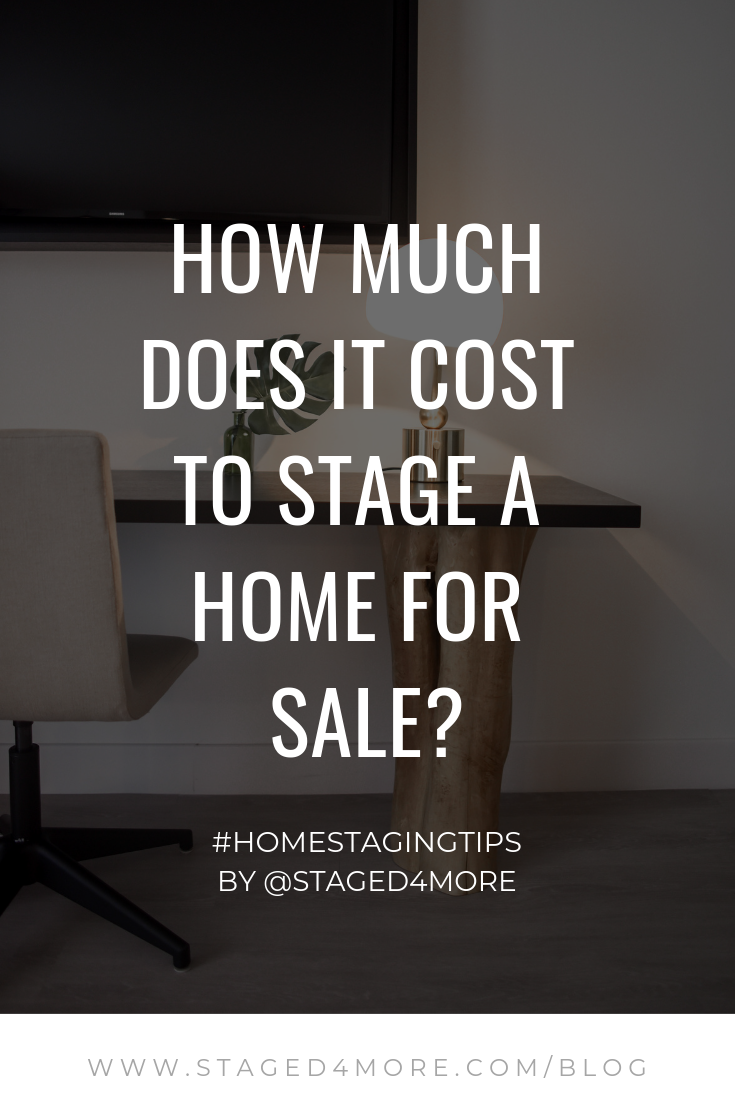 How much does it cost to stage a home for sale staged4more for How much do southwest homes cost