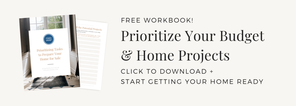 Prioritizing Tasks to Prepare Your Home for Sale by Staged4more School of Home Staging