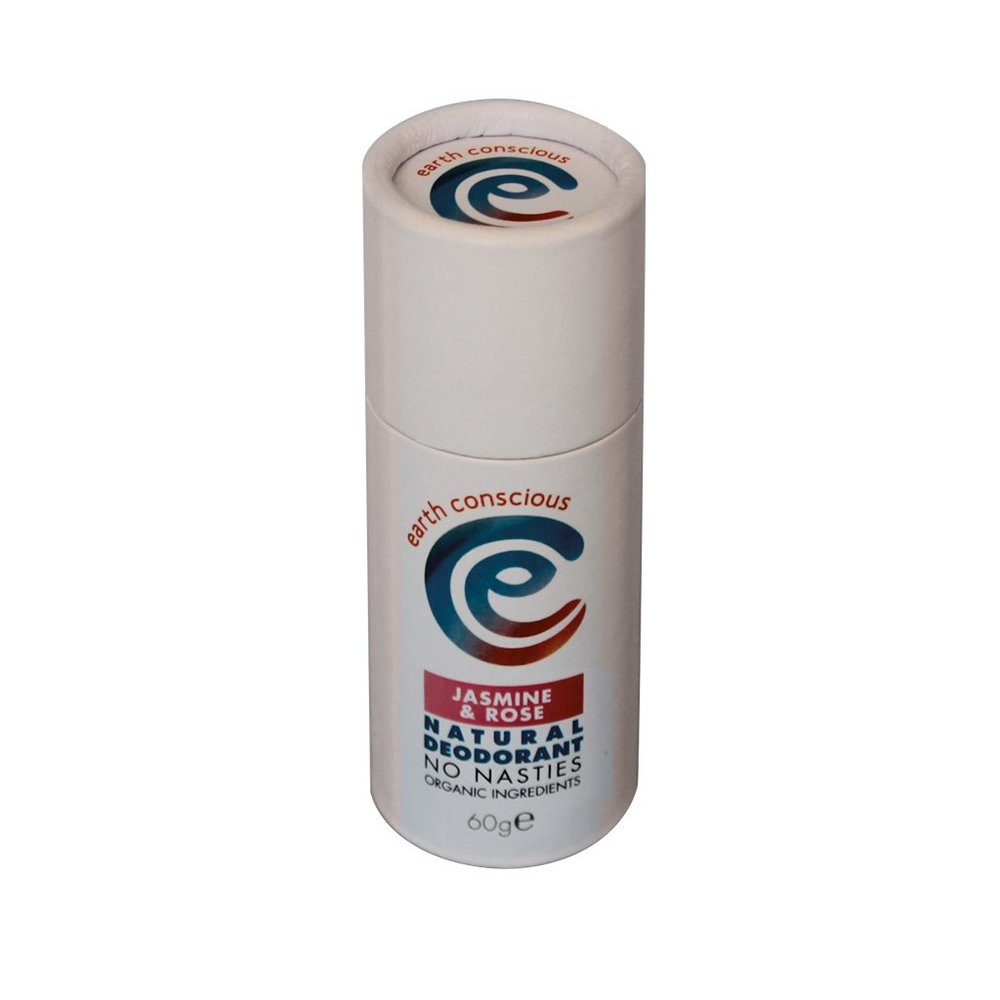 Earth Conscious Natural Deodorant Stick - Jasmine & Rose