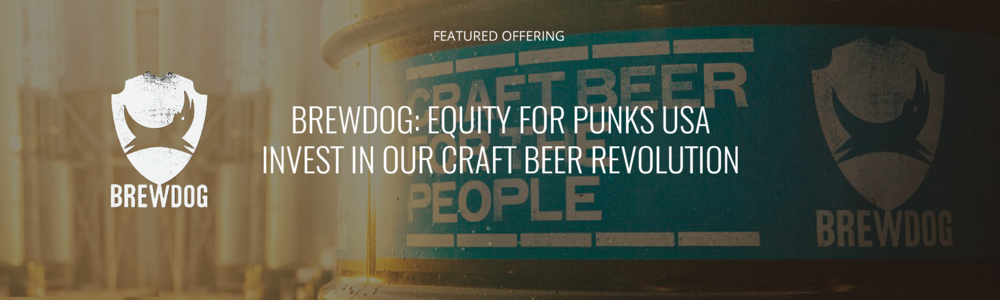 BrewDog USA Inc.'s First Regulation A+ Offering