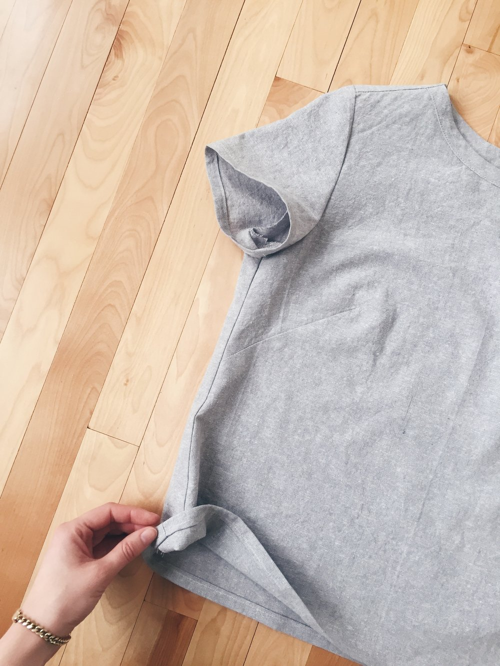 Finished Camber Shirt from Merchant and Mills