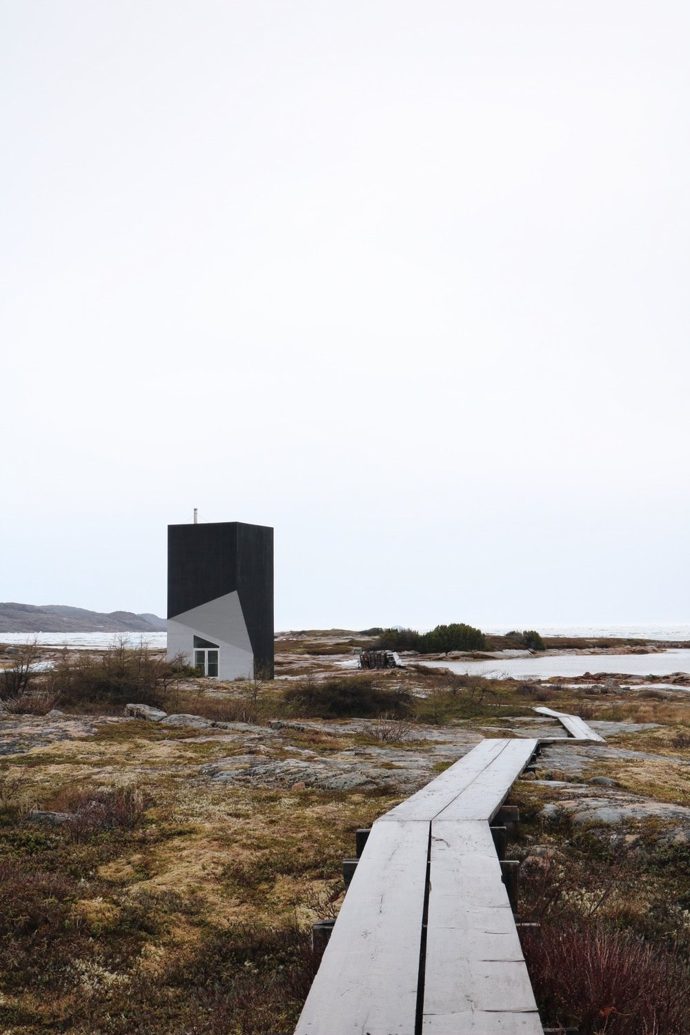 Tower Studio, Shoal Bay, Fogo Island, Newfoundland
