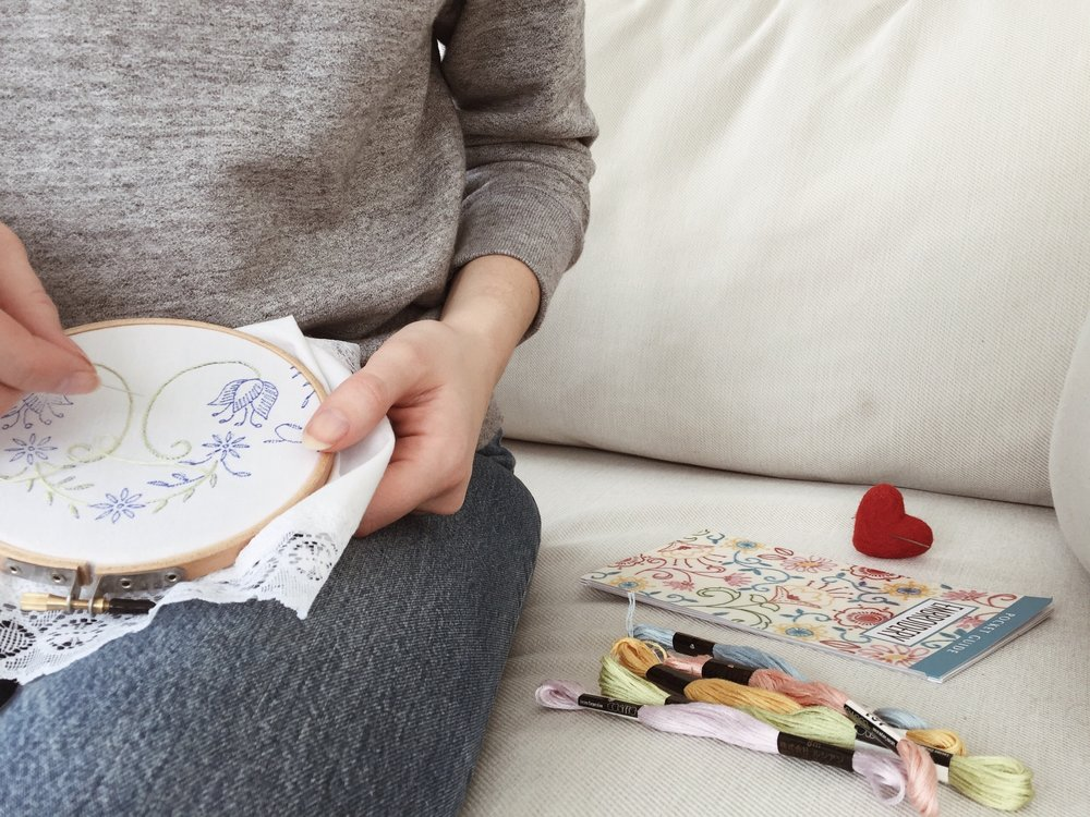 embroidery 101 resources