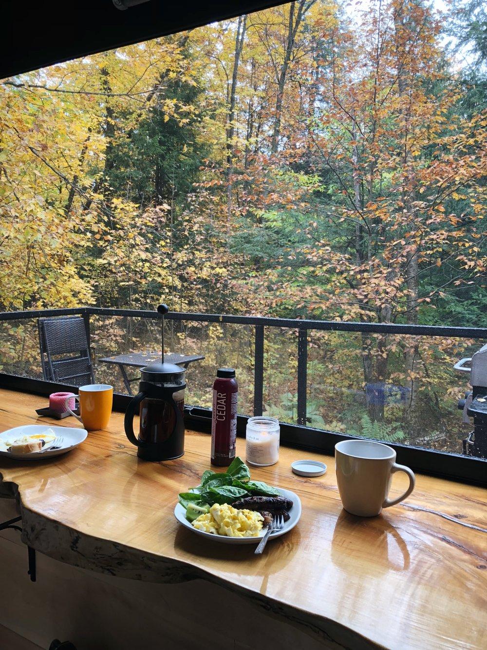 Joni Cabin Breakfast Bar