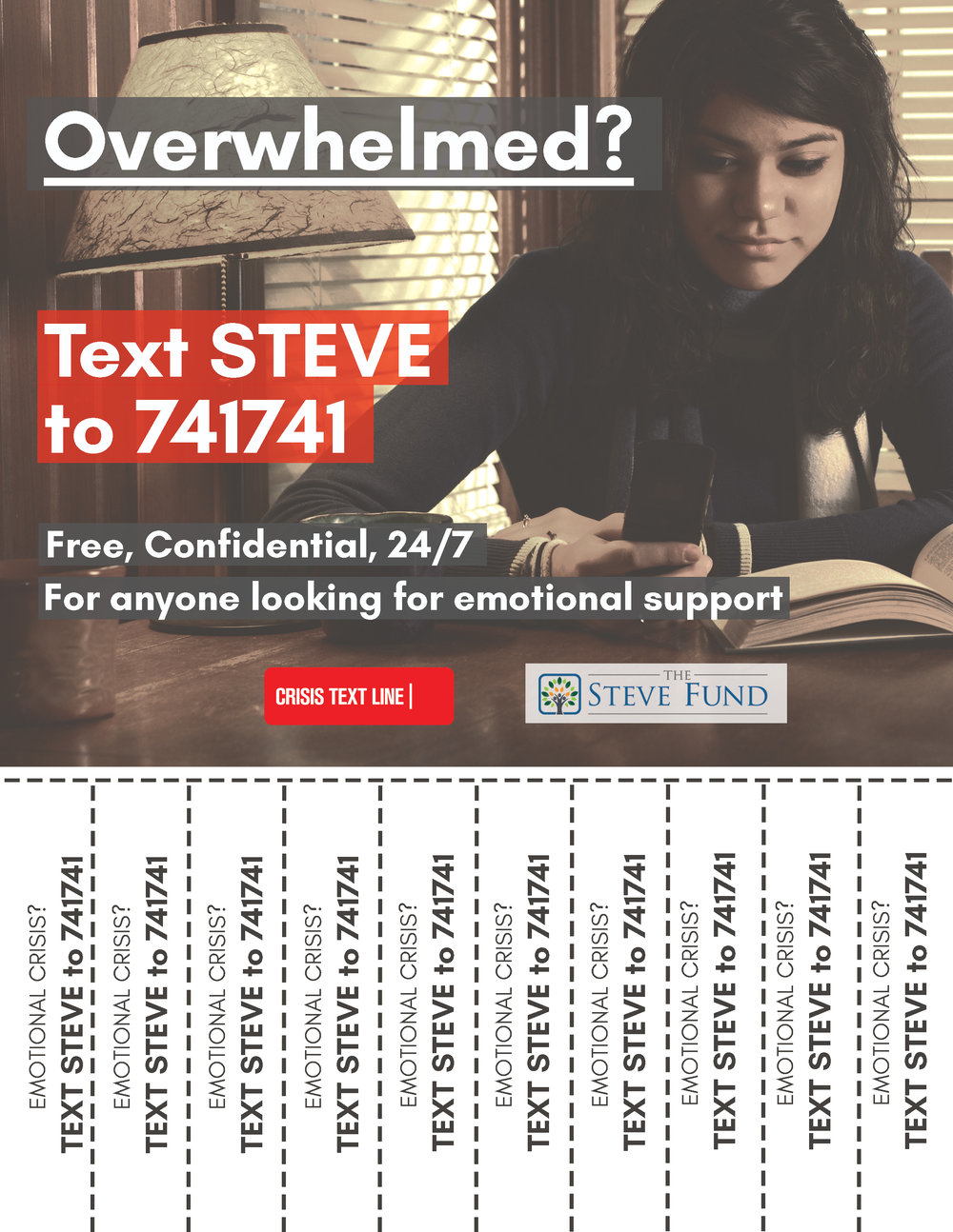 Female Student Texting Overwhelmed Tear Off Flyer 3.14.17.jpg