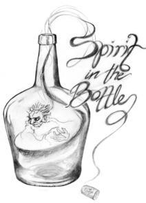 spirit in the bottle logo