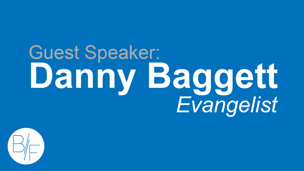Guest Speaker Danny Baggett shows us that our development is just as important as our deliverence.